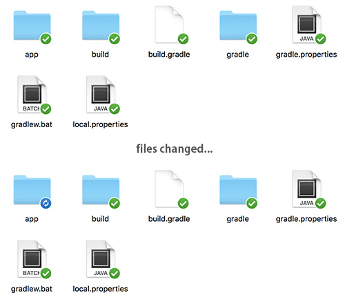 Dropbox file changed